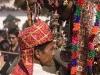 "Elaborately dressed camel after the ""Spiritual Walk,"" Pushkar Camel Fair."