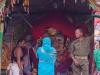 Woman prays to Lord Balabhadra, Rath Yatra, Puri