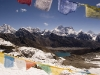 View towards Gokyo and Mt. Everest from the top of the Renjo La.