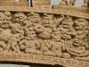 Detail, Northern Gate, Great Stupa, Sanchi.