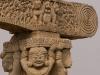Detail, Western Gate, Great Stupa, Sanchi.