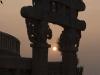 Sunset, Northern Gate, Great Stupa, Sanchi.