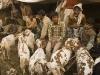 Goat market before Eid in old Delhi.