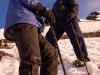 Karin & Jeff climbing Stok Kangri