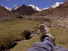 Taking one last relaxing gaze towards Stok Kangri