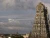 North gopuram Sri Meenakshi Temple, Madurai.