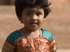 Little girl at Brihadishwara Temple, Thanjavur (Tanjore).