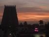 Sunset,  Kumbakonam.