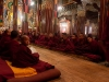 Morning prayers, Tawang, Gompa