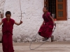 Monks jumping rope, Tawang