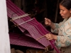 Weaving the traditional dress, Old Dirang