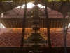 Sri Krishna temple lit up for festival in Guruvayur, Thrissur District.
