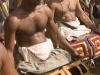 Drumers, temple festival in Wadakkancheri, Thrissur District.