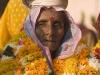 Garland clad woman, Ujjain.