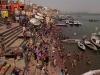 Cleaning off after Holi, Varanasi