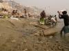 Laundry in the Ganges, Varanasi.
