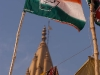 Congress party flags, Varanasi