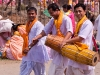 Devotees after dancing at Sri Govindaji Temple for  Yaoshang, Imphal